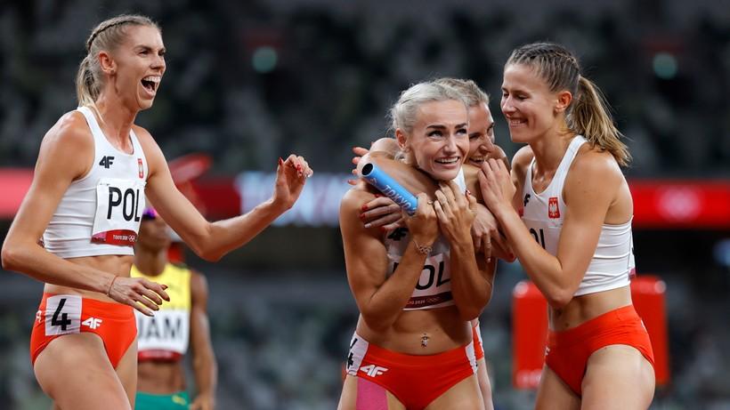 Tokio 2020: Polska sztafeta kobiet 4x400 m ze srebrem!