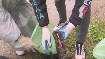 Ponad pół tony śmieci zniesionych z tatrzańskich szlaków