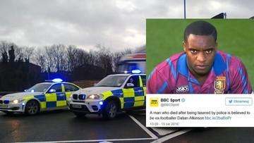 Były piłkarz zmarł postrzelony przez policję paralizatorem