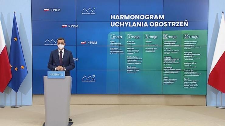 Decyzje w sprawie obostrzeń. Konferencja premiera i ministra zdrowia