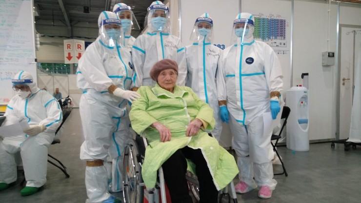 101-latka wygrała z koronawirusem