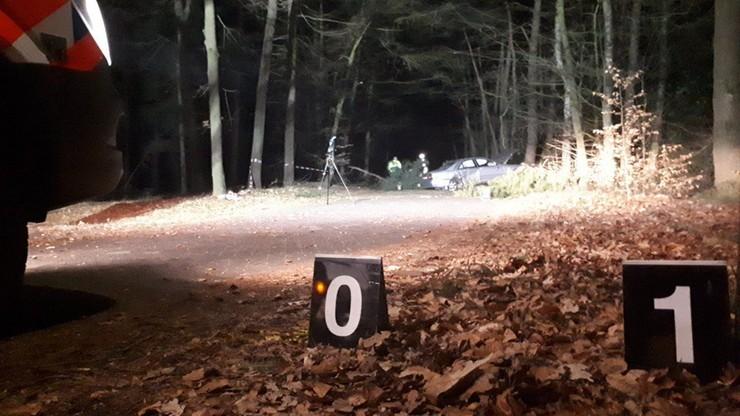 Mercedes na polskich tablicach uderzył w drzewo. Cztery osoby ranne [WIDEO]