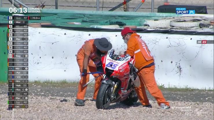Motocyklowe MŚ: Poważny wypadek Jorge Martina