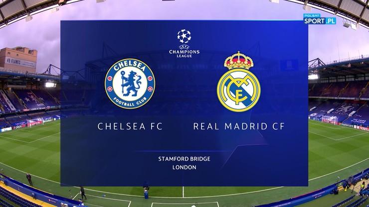 Chelsea FC - Real Madryt 2:0. Skrót meczu