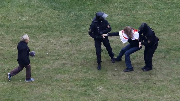 Przywódcy Rady Europy potępiają przemoc na Białorusi