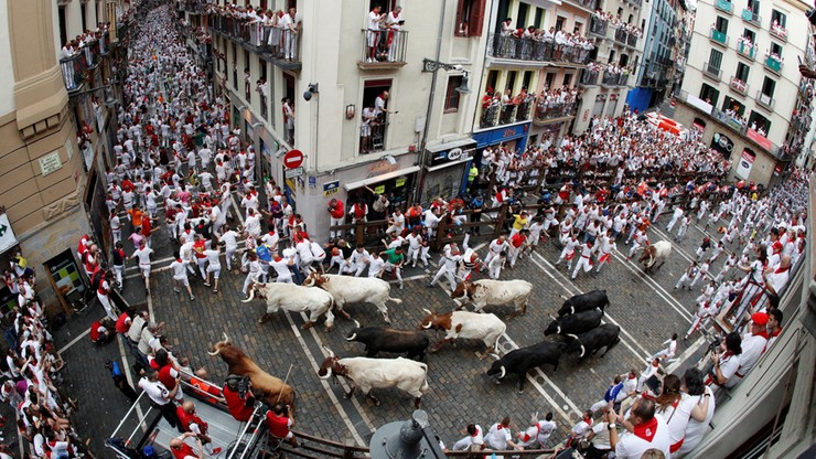 Odwołano gonitwy byków w Pampelunie. Hiszpania walczy z czwartą falą pandemii