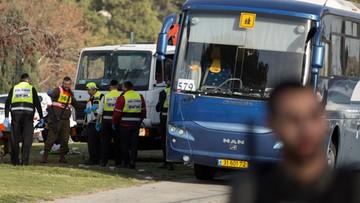 Ciężarówka wjechała w żołnierzy. Zamach w Jerozolimie