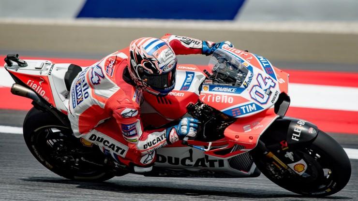 MotoGP: Triumf Dovizioso w Austrii
