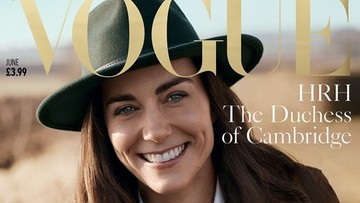 "Księżna Kate na okładce brytyjskiego magazynu ""Vogue"". Specjalna sesja na stulecie pisma"