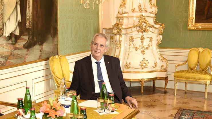 Czechy. Prezydent Zeman w szpitalu. Nie podano przyczyny