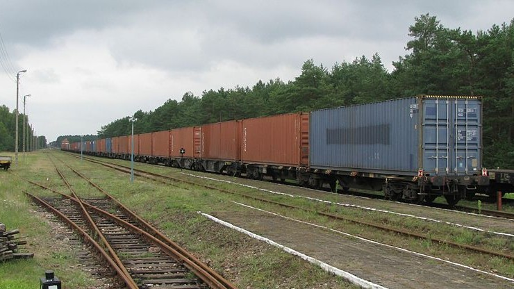Wykoleiły się wagony dwóch pociągów towarowych