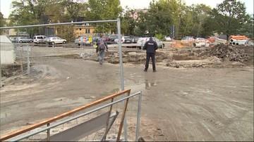 Niewybuch z czasów II wojny światowej na placu budowy linii tramwajowej we Wrocławiu