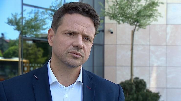 Trzaskowski o apelu Jakiego, aby odszedł z PO: nie wstydzę się Koalicji Obywatelskiej