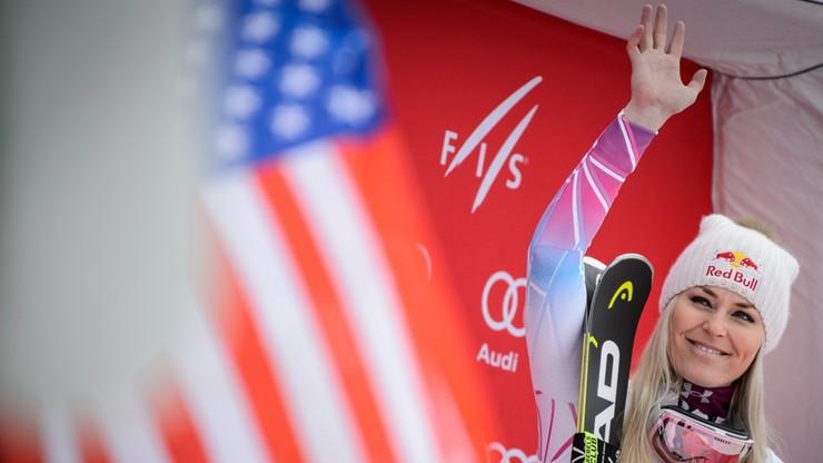 Vonn znów wygrała zjazd w Garmisch-Partenkirchen