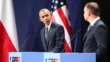 """""""Obama zganił polski rząd"""". Echa słów prezydenta USA o demokracji w Polsce"""
