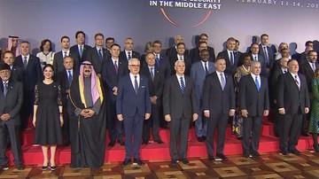 Warszawski szczyt ws. Bliskiego Wschodu. Obrady będą kontynuowane w czwartek
