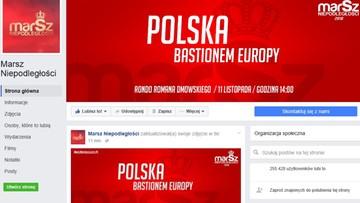 """Facebook przywrócił konto narodowców. Profil """"Marsz Niepodległości"""" znów działa"""