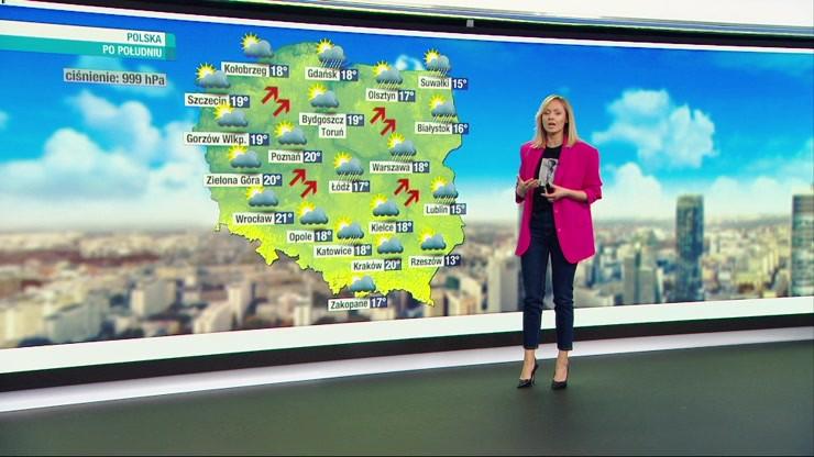 Prognoza pogody - środa, 20 października - rano