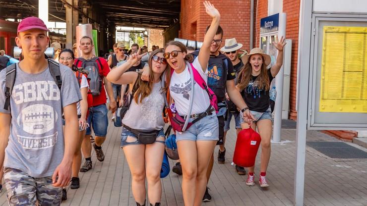 Będzie 70 dodatkowych pociągów na Pol'And'Rock Festival