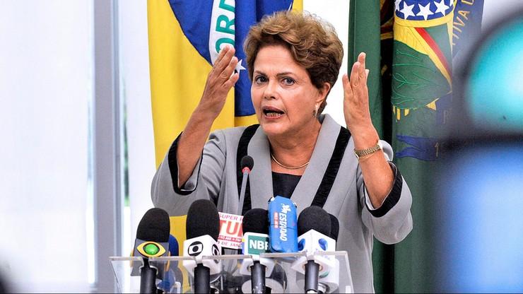 Prezydent Brazylii zawieszona w obowiązkach głowy państwa