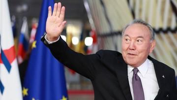 Prezydent Kazachstanu podał się do dymisji. Sprawował urząd od 1991 roku