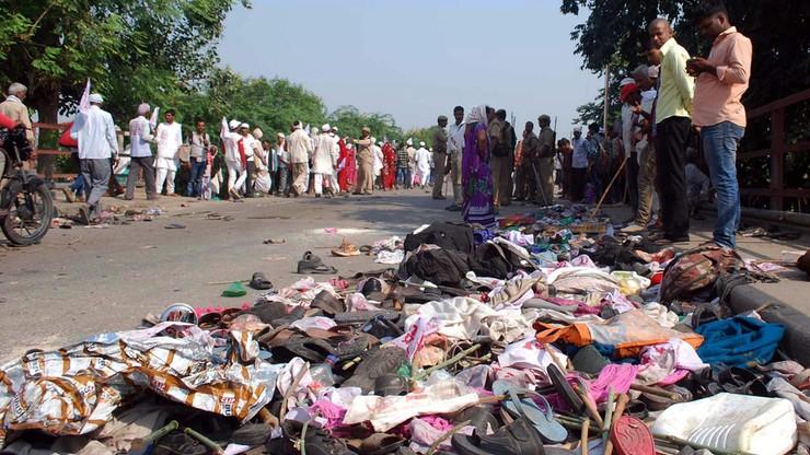 Panika podczas ceremonii hinduistycznej. Zmarło co najmniej 19 osób