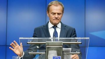 """Tusk odrzuca oskarżenia Kaczyńskiego. """"To jedne z najdziwniejszych słów, jakie w polskiej polityce się pojawiły"""""""