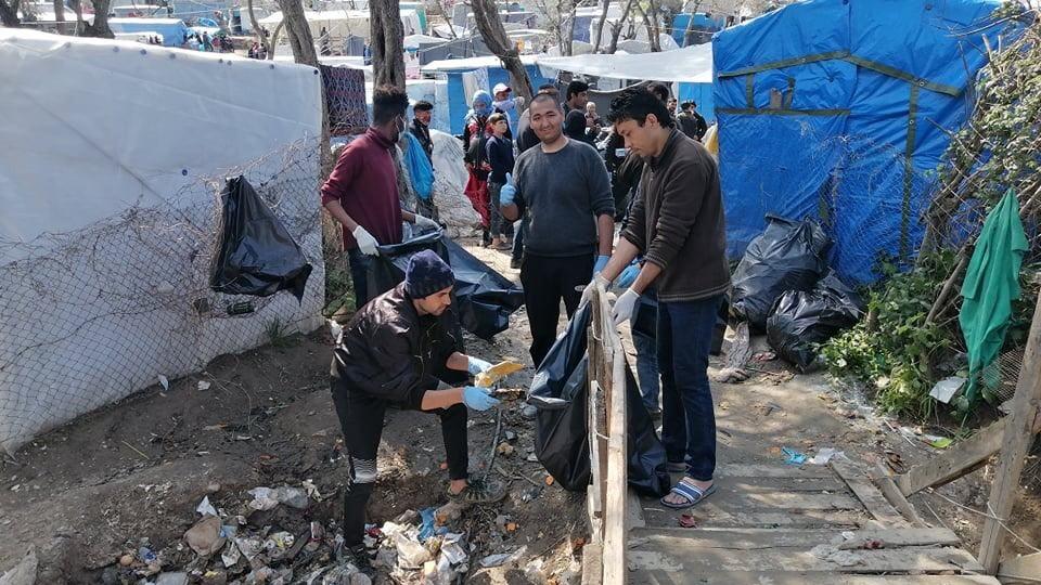 Tragiczne warunki sanitarne w obozie dla uchodźców