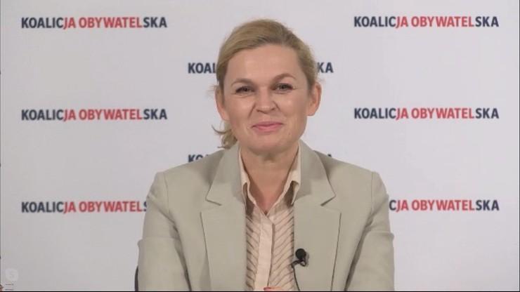 """Nie interesuje mnie kryzys przywództwa w PO - Barbara Nowacka w """"Gościu Wydarzeń"""""""