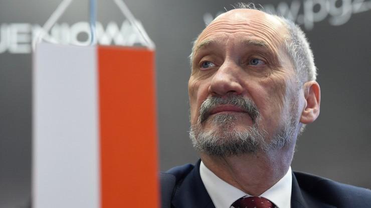 Macierewicz: otwieramy praktyczną współpracę z producentem systemu Patriot