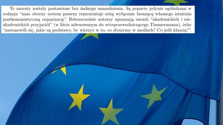 1500 naukowców przeciw tezom listu 15 uczonych, którzy poparli reformę sądownictwa i skrytykowali UE