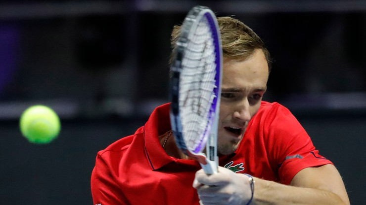 ATP w Sankt Petersburgu: Najwyżej rozstawiony Miedwiediew w półfinale