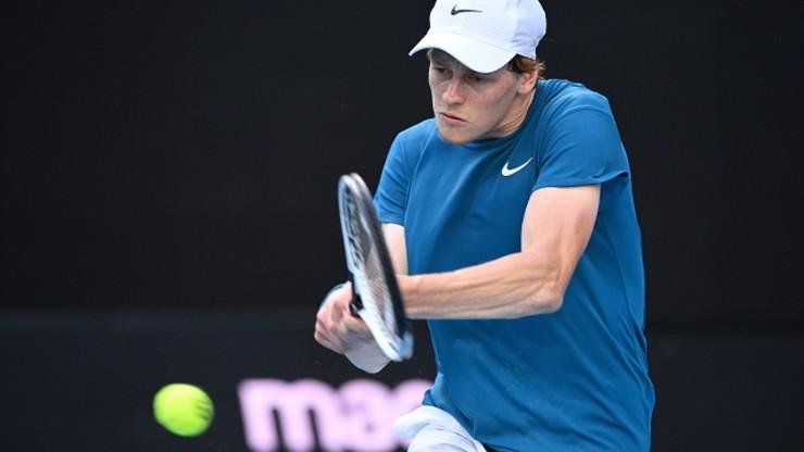 ATP w Melbourne: Jannik Sinner ograł Karena Chaczanowa. Włoski finał