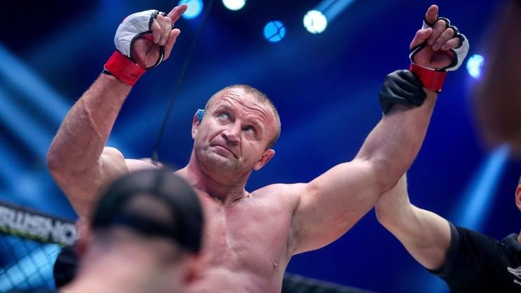Pudzianowski zapowiedział powrót do klatki KSW