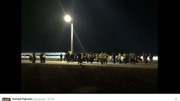 Ewakuacja lotniska w Modlinie. Służby przeszukały terminal