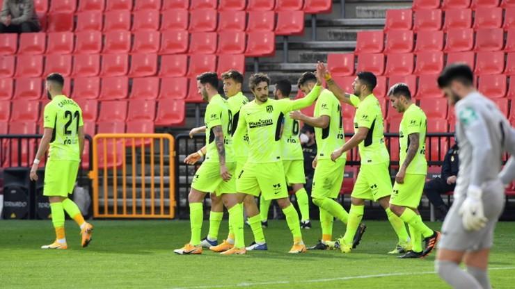 Primera Division: Zwycięstwo Atletico Madryt