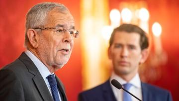 """""""Nowy początek musi nastąpić szybko"""". W Austrii wymuszone kryzysem rządowym przedterminowe wybory"""