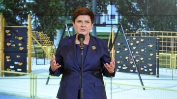"""Szydło: Centrum Informacyjne Rządu nie uczestniczyło w przygotowaniu kampanii """"Sprawiedliwe Sądy"""""""