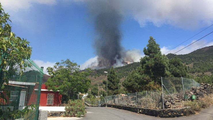 Wyspy Kanaryjskie. Wybuchł wulkan na wyspie La Palma