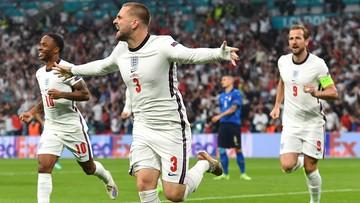 Euro 2020: Włochy - Anglia 0:1. Gol Luke'a Shawa