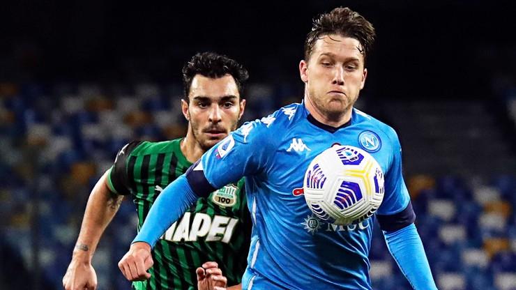 Serie A: Powrót Piotra Zielińskiego. Napoli przegrało z Sassuolo