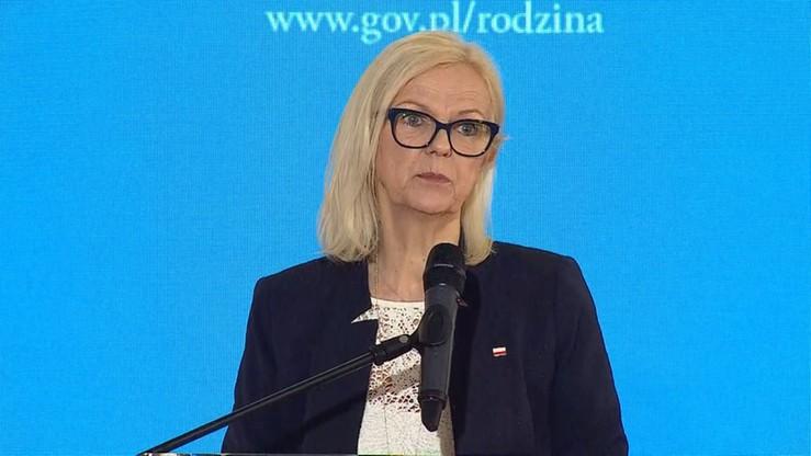 Borys-Szopa: liczymy, że pierwsze wypłaty świadczenia 500 plus trafią do rodziców już w lipcu