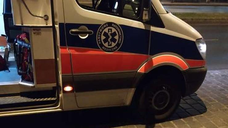 33-latek spadł z dachu. W ciężkim stanie trafił do szpitala