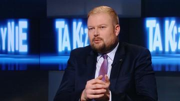 Zembaczyński: bierzecie niskie niby ministerialne pensje, a bokiem wpuszczacie na konto grube kwoty