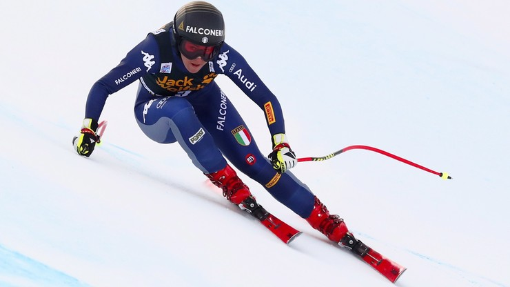 Alpejski PŚ: Goggia wygrała drugi zjazd w Val d'Isere