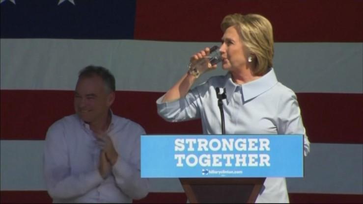 Bill Clinton: Hillary jest zdrowsza od Trumpa