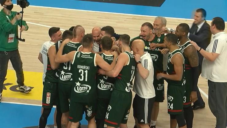 Energa Basket Liga: Legia Warszawa wygrała z Pszczółką Start Lublin