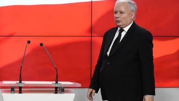 Kaczyński: trochę się kolumna rozciągnęła i trzeba tabory podciągnąć
