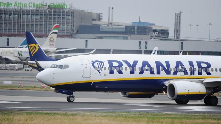 Strajk w Ryanairze, odwołano 600 lotów w Europie. Irlandzcy pracownicy mają się przenieść do Polski