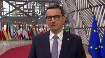 Premier zapowiada, że Grupa Wyszehradzka zażąda sankcji dla Białorusi